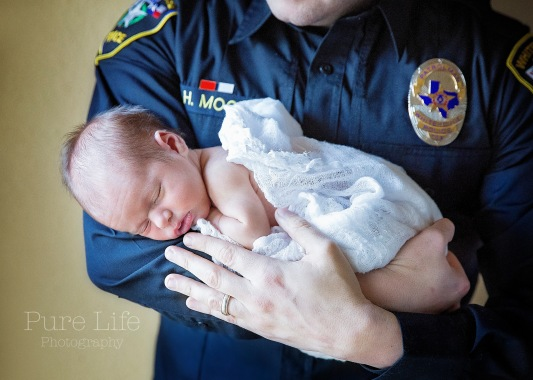 Officer and a Baby