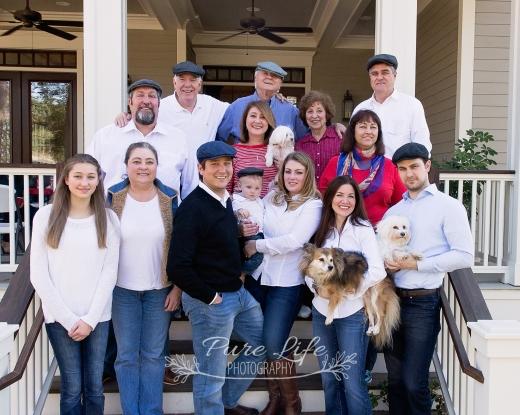 The Ivey Family. Reid Turns 1!!!